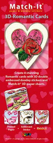 Doodey 3D Romantic Cards Silver DV72802