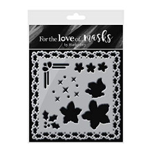 Hunkydory for The Love of Masks - Christmas Rose Lantern - FTLM319