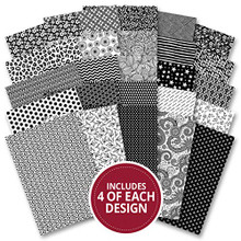 Hunkydory Adorable Scorable Monochrome 100 Sheet Megabuy AS734
