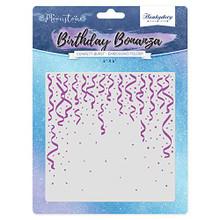 Hunkydory Moonstone Embossing Folder- Birthday Bonanza- Confetti Burst MSTONE706