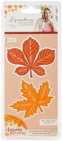 Crafter's Companion S-AUT-MD-Fall Morning Metal Die Leaves
