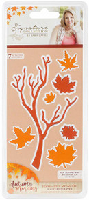 Crafter's Companion S-AUT-MD Morning Metal Die Scattered Leaves