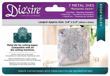Crafters Companion Die'sire Edge'ables - Romantic Swirls