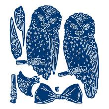 Tattered Lace 3D Decoupage Owl Die Set, 4 Dies 457748