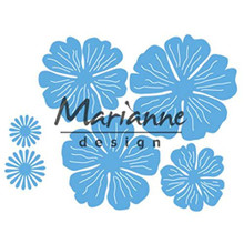 Marianne Design Creatables Anja's Beautiful Flower Set