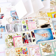 Kanban Decopauge Delights  Card Collection -- Includes Toppers, Layers, Card Blanks & Tapes