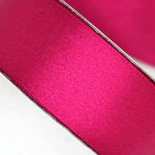 25 yd 3/4 in Satin Ribbon- Fuschia