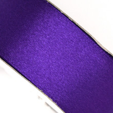 25 yd 3/4 in Satin Ribbon- Purple