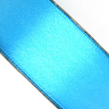 25 yd 3/4 in Satin Ribbon- Turquoise
