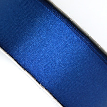 25 yd 3/4 in Satin Ribbon- Navy