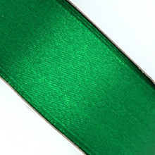25 yd 3/4 in Satin Ribbon- Green
