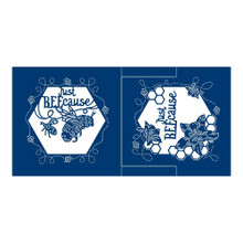 Tattered Lace Symphony Just BEEcause Shaped Card & Die Set, 2 Dies 455707