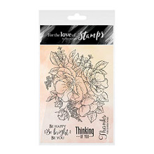 Hunkydory Crafts for The Love of Stamps - Anemone Bouquet FTLS333