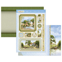 Hunkydory Country Days- by The Riverside Luxury Topper Kit DAYS903