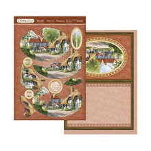 Hunkydory Country Days- Home Sweet Home Deco Large Kit DAYSDEC901
