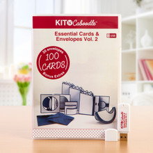 Kit 'N' Caboodle Essential Cards & Envelopes Vol. 2 -USB