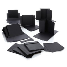 30 pc Fancy Card Blanks Black and Envelopes DS-CRDKIT-BLK