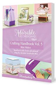 Hunkydory The Adorable Scoreboard Mini Crafting Handbook Vol 5