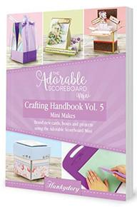 Hunkydory The Adorable Scoreboard Mini Crafting Handbook Vol 5