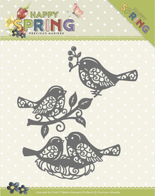 Find It Trading Precious Marieke Happy Spring Die-Spring Birds