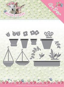 Find It Trading Amy Design Spring Is Here Die-flowerpots