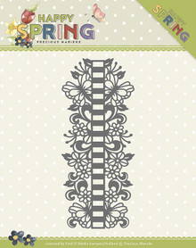 Find It Trading Precious Marieke Happy Spring Die-Ribbon Border