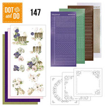 Find It Trading Dot and Do Happy Spring DODO147 Hobbydots Card Set