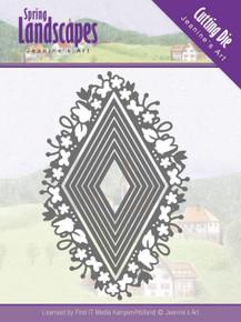 Find It Trading Jeanine's Art Spring Landscapes Die-Spring Diamond