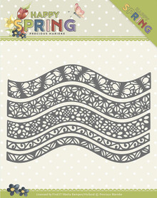 Find It Trading Precious Marieke Happy Spring Die-Happy Borders