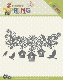 Find It Trading Precious Marieke Happy Spring Die-Happy Birdhouses