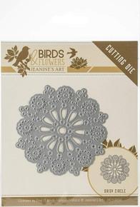 Find It Trading Jeanine's Art Birds & Flowers Die-Daisy Circle JAD10060