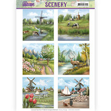 Find It Trading Spring Landscapes Scenery Pushouts CDS10010