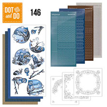 Find It Trading Dot and Do Winter Owls DODO146 Hobbydots Card Set