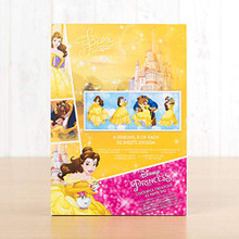 Character World Disney Princess Beauty and The Beast Colorful Creations A5 Paper Pad PADL09