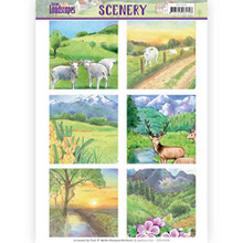 Find It Trading Spring Landscapes Scenery Pushouts CDS10009