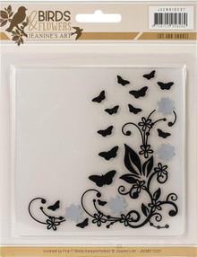 Find It Trading Jeanine's Art Cut & Emboss Folder-Birds & Flowers MB10007