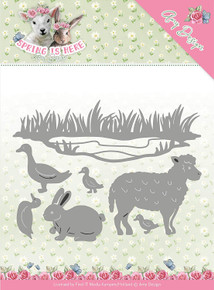 Find It Trading Amy Design Spring is Here Die-Spring Animals