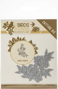 Find It Trading Jeanine's Art Birds & Flowers Die-Bird Corner JAD10062