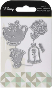 Character World Belle Disney Beauty and The Beast Embellishments Die Set