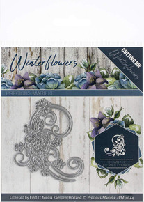 Find It Trading Precious Marieke Winter Die-Snowflake Flower Corner  PM10144
