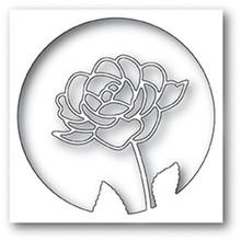 Poppystamps Rose Stem  Collage Cutting Die 2008