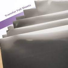 Midas Touch 20pc Transfer Foil Sheets Silver