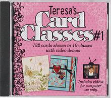 Teresa's Card Classes #1 CD HOTP 1509 132 Cards in 10 Classes CD