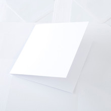 Core Collection 5x7 Cards & Envelopes Ivory Pearl 30-pk