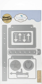 Elizabeth Craft Designs EC1607 Elizabeth Craft Metal Die-Planner Essentials 5