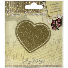 Find It Trading Star Filled Heart Amy Design Classic Christmas Die
