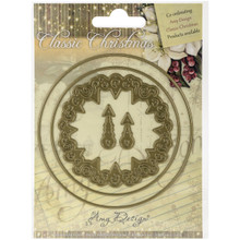 Find It Trading Clock Amy Design Classic Christmas Die