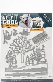 Find It Trading ADD10160 Amy Design Keep Die-Cool Forest