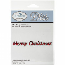 Elizabeth Craft Designs EC944 Elizabeth Craft Metal Die-Merry Christmas