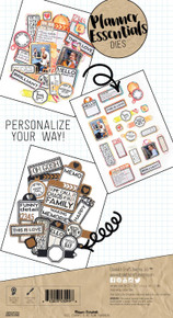 Elizabeth Craft Metal Die-Planner Labels